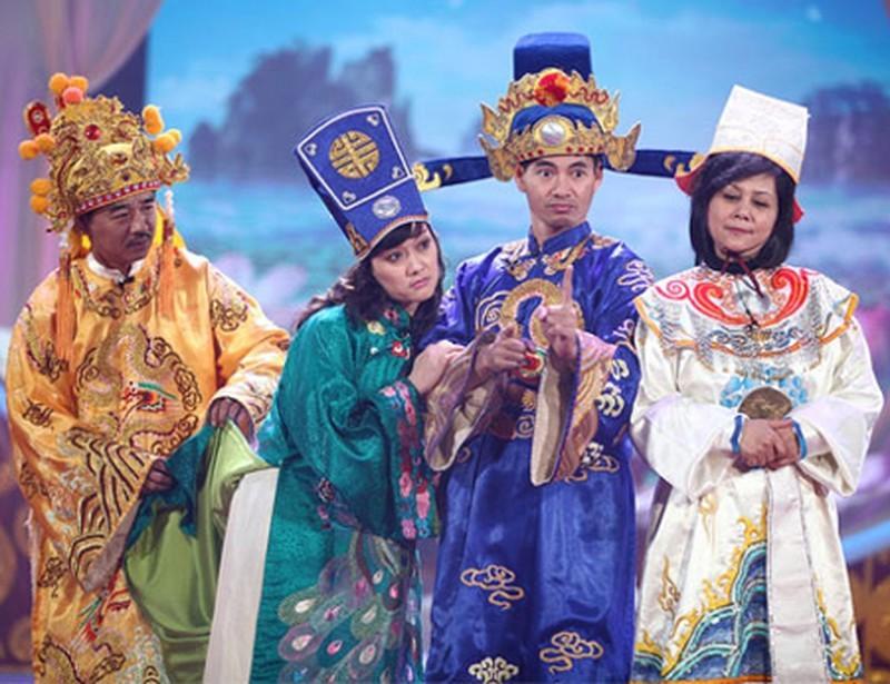 Vân Dung thường mè nheo tổng đạo diễn Đỗ Thanh Hải để có thêm đất diễn cho vai Táo của mình