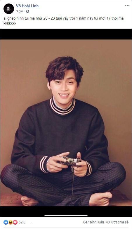 Hoài Linh khoe ảnh thời trai trẻ - ảnh 2
