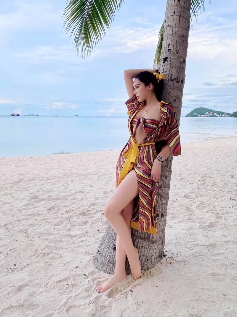 Hoa hậu Kỳ Duyên sau giảm cân xinh đẹp gợi cảm - ảnh 10