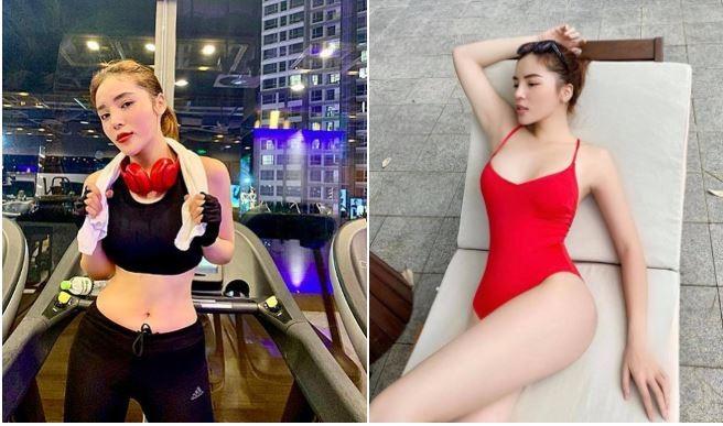 Hoa hậu Kỳ Duyên sau giảm cân xinh đẹp gợi cảm - ảnh 2