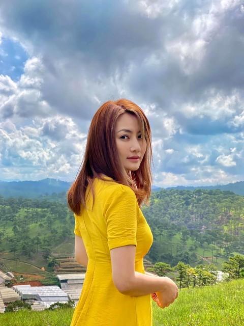 Mỹ nhân Việt khoe sắc vàng quyến rũ - ảnh 6