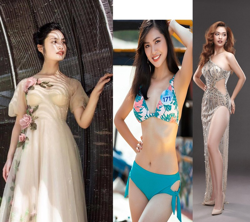 Ngắm Nông Thúy Hằng đạt giỏi Văn quốc gia thi Hoa hậu - ảnh 18