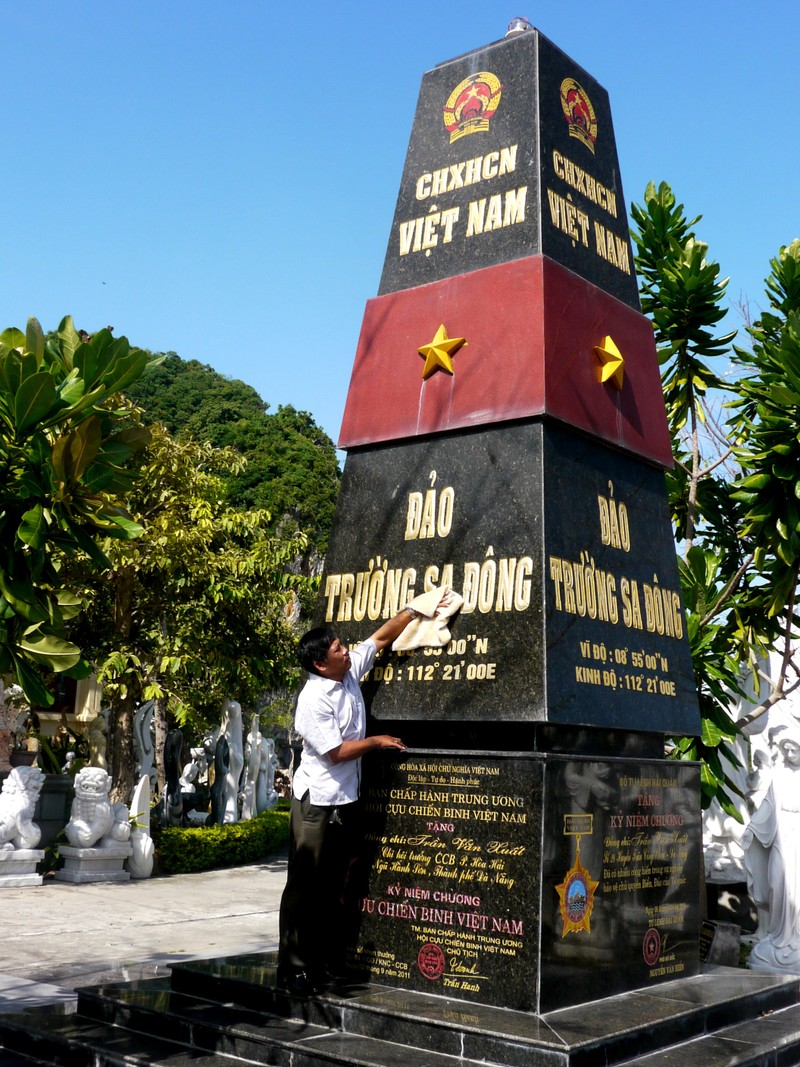 Cựu binh Trường Sa ở Đà Nẵng tặng quà cho 31 chốt phòng dịch - ảnh 4