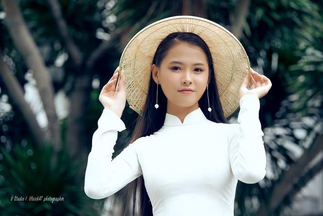 Nguyễn Thùy Dương nữ sinh Luật tóc dài 1m thi Hoa hậu Việt Nam - ảnh 6