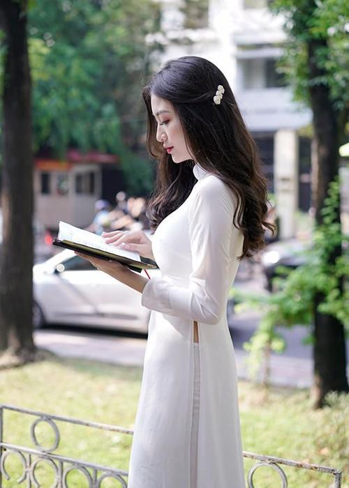 Ngắm hình ảnh diễn viên Vũ Anh Thư thi Hoa hậu Việt Nam - ảnh 5