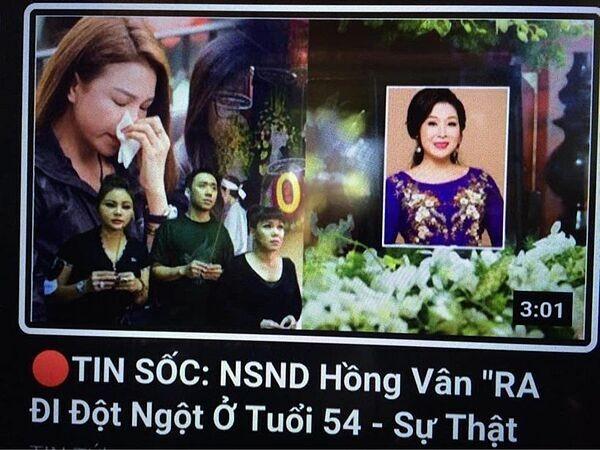 NSND Hồng Vân bị tung tin qua đời, sao Việt khoe dáng - ảnh 1