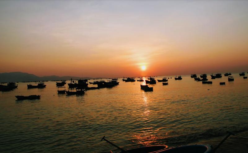 Về Ninh Thuận ra làng bè Đông Hải xem tắm cá - ảnh 1