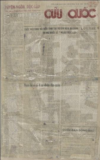 Lễ Độc lập 2-9-1945 qua tường thuật của báo chí đương thời - ảnh 3