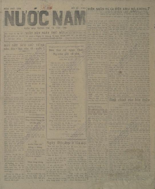 Lễ Độc lập 2-9-1945 qua tường thuật của báo chí đương thời - ảnh 1