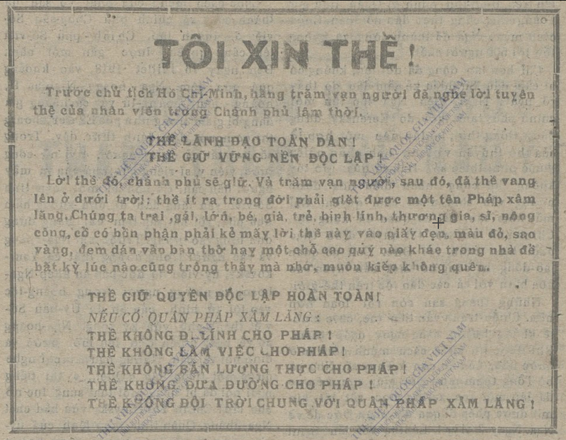 Lễ Độc lập 2-9-1945 qua tường thuật của báo chí đương thời - ảnh 5