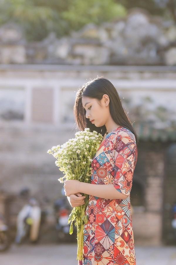 Ngắm Quỳnh Trang - nữ sinh chuyên Toán thi Hoa hậu Việt Nam  - ảnh 2