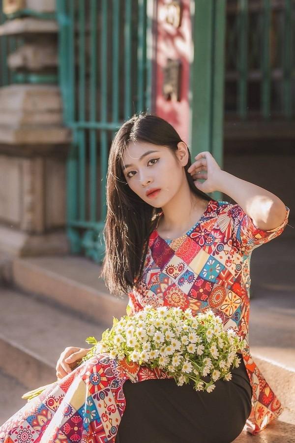 Ngắm Quỳnh Trang - nữ sinh chuyên Toán thi Hoa hậu Việt Nam  - ảnh 6