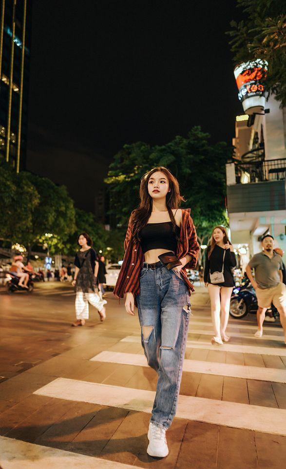 Đan Phượng - nữ sinh đại học Sân khấu Điện ảnh thi Hoa hậu - ảnh 11