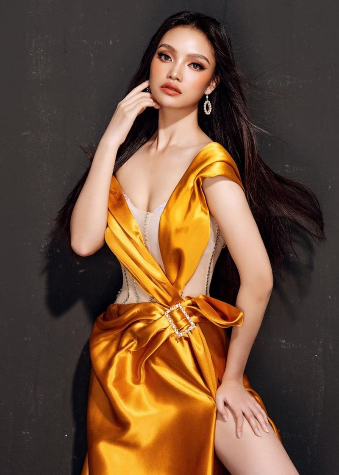 Đan Phượng - nữ sinh đại học Sân khấu Điện ảnh thi Hoa hậu - ảnh 13