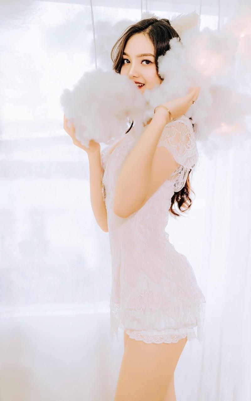 Đan Phượng - nữ sinh đại học Sân khấu Điện ảnh thi Hoa hậu - ảnh 5