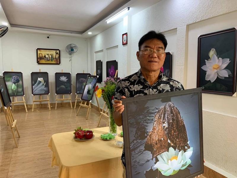 Ảnh sen Vu Lan 'Sanh Lão Bệnh Tử' của nghệ sĩ Thành Xuân Anh  - ảnh 1