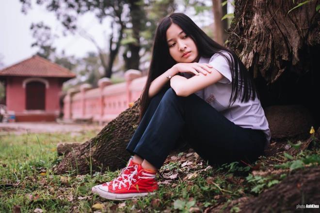 Ngắm nữ sinh Huế được đặc cách vào chung khảo Hoa hậu Việt Nam - ảnh 10