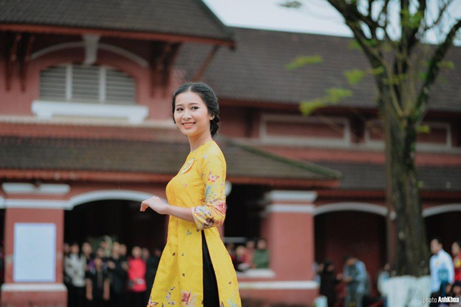Ngắm nữ sinh Huế được đặc cách vào chung khảo Hoa hậu Việt Nam - ảnh 2
