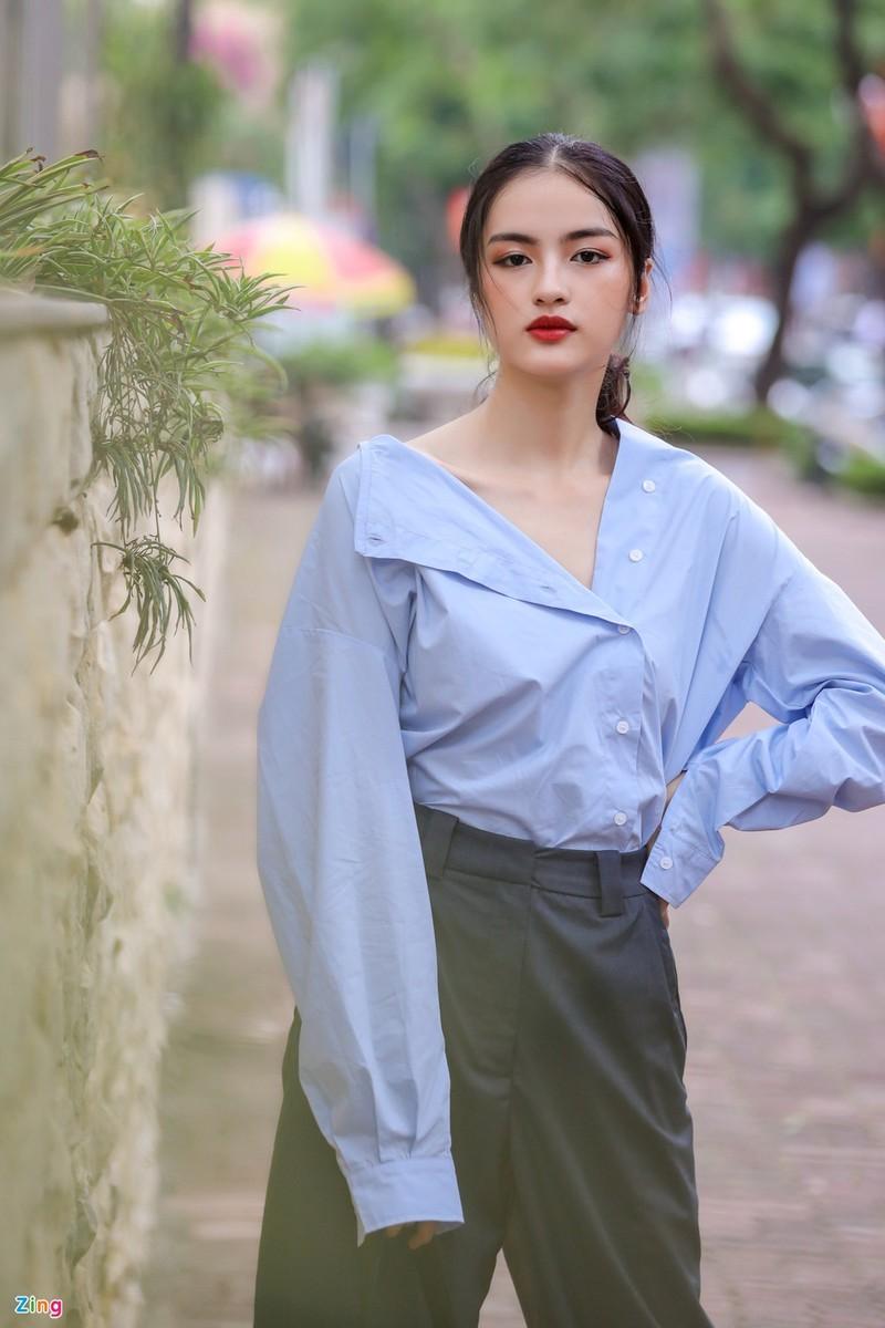 Nữ sinh Hà My được đặc cách vào chung khảo Hoa hậu Việt Nam - ảnh 9