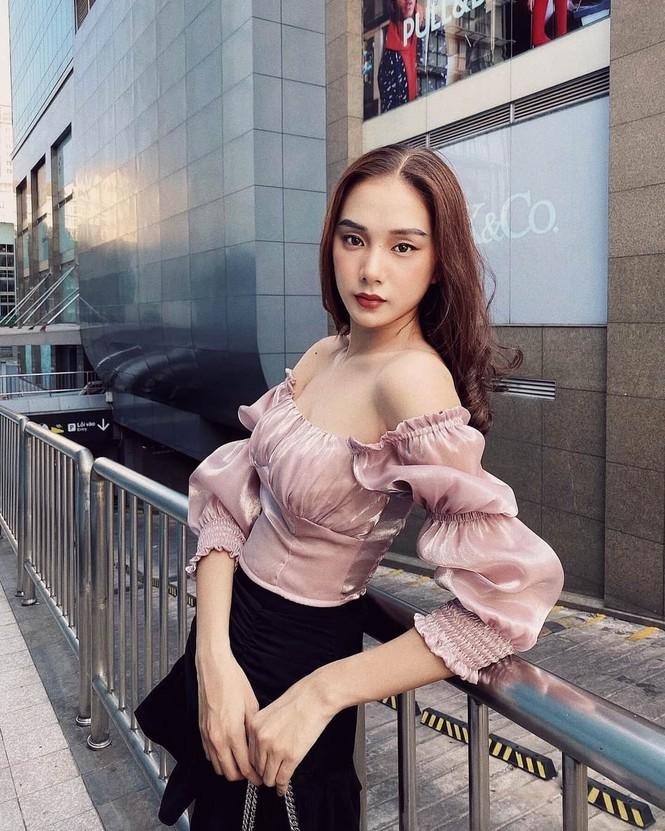 Ngắm Bích Thùy cô gái đất võ vào bán kết Hoa hậu Việt Nam 2020 - ảnh 4