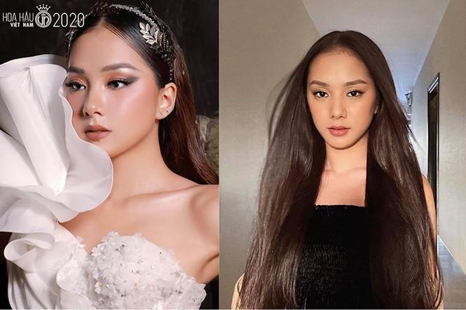Ngắm Bích Thùy cô gái đất võ vào bán kết Hoa hậu Việt Nam 2020 - ảnh 10