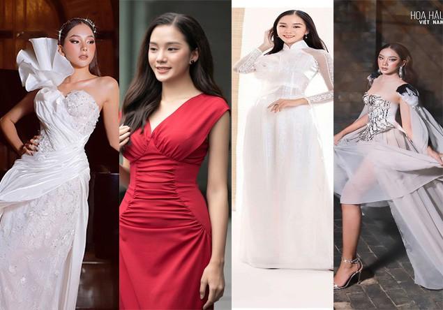 Ngắm Bích Thùy cô gái đất võ vào bán kết Hoa hậu Việt Nam 2020 - ảnh 11