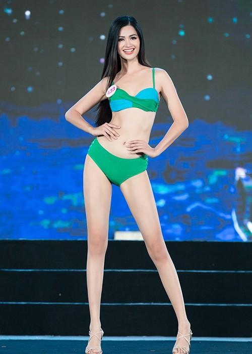 Thí sinh khoe bikini gợi cảm ở Bán kết Hoa hậu Việt Nam 2020 - ảnh 6