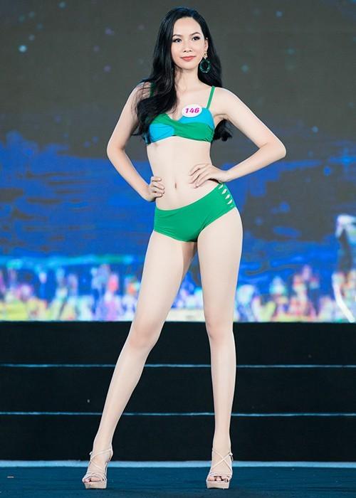 Thí sinh khoe bikini gợi cảm ở Bán kết Hoa hậu Việt Nam 2020 - ảnh 8