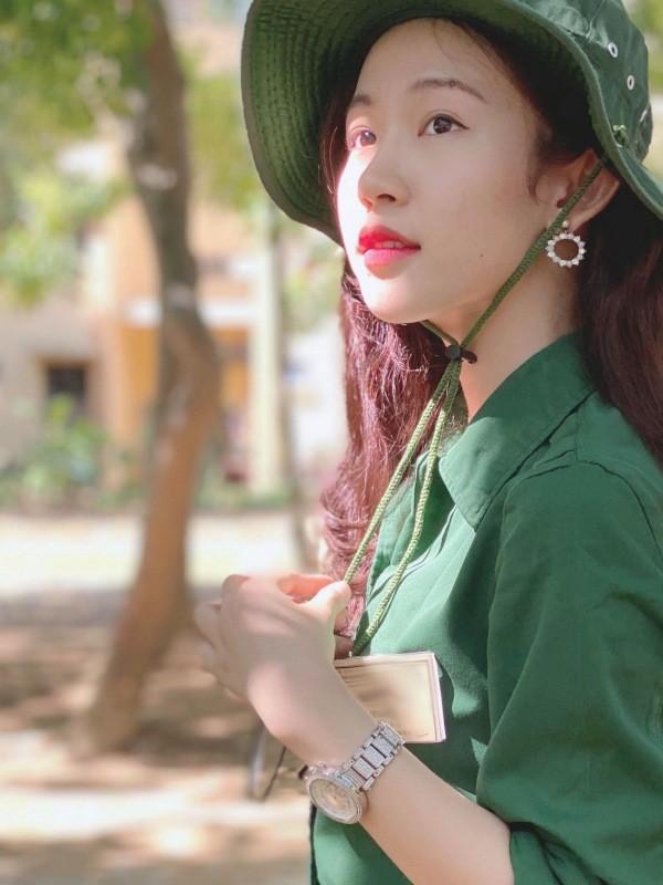 Đậu Hải Minh Anh người đẹp giống hoa hậu Đặng Thu Thảo  - ảnh 8