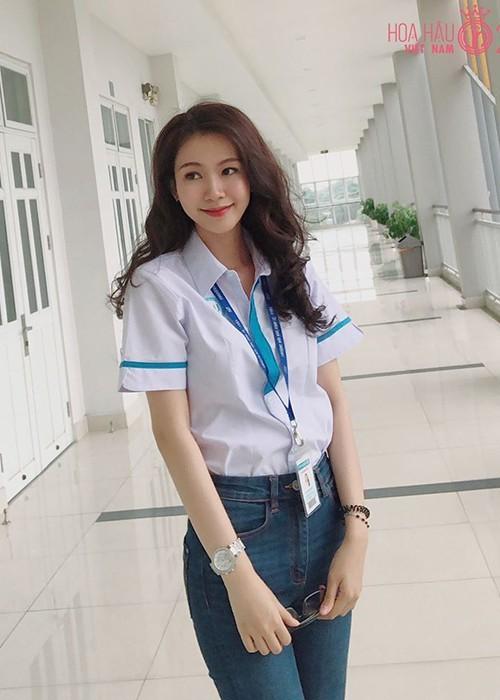 Đậu Hải Minh Anh người đẹp giống hoa hậu Đặng Thu Thảo  - ảnh 5