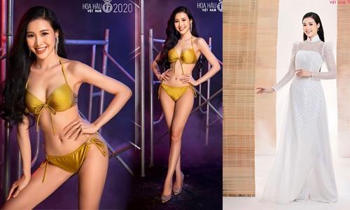 Trân Châu - thí sinh có vòng eo nhỏ nhất Hoa hậu Việt Nam 2020 - ảnh 13