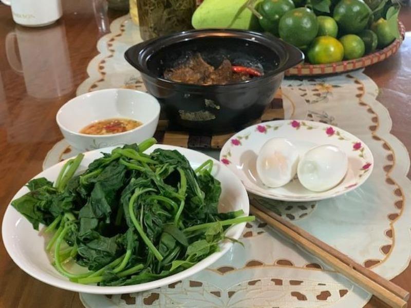 Người xứ Quảng có món rau lang kho mắm cái đặc biệt - ảnh 7