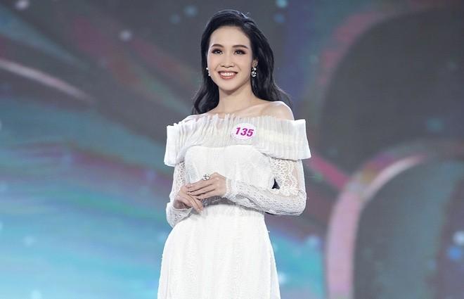 Trân Châu - thí sinh có vòng eo nhỏ nhất Hoa hậu Việt Nam 2020 - ảnh 7