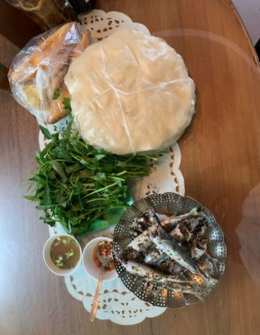 Về Quế Sơn ăn bánh tráng sắn với cá nục hấp  - ảnh 3