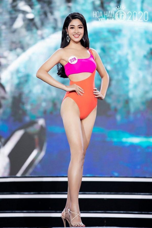 Ngắm người đẹp có vòng 3 khủng vào chung kết Hoa hậu Việt Nam - ảnh 7