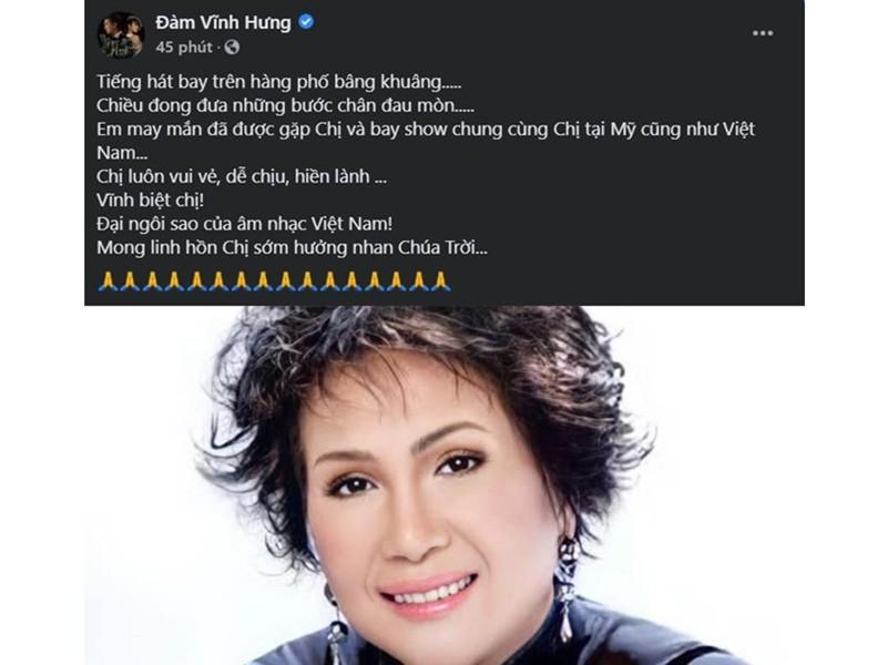 Hoài Linh và sao Việt tiếc thương danh ca Lệ Thu - ảnh 6