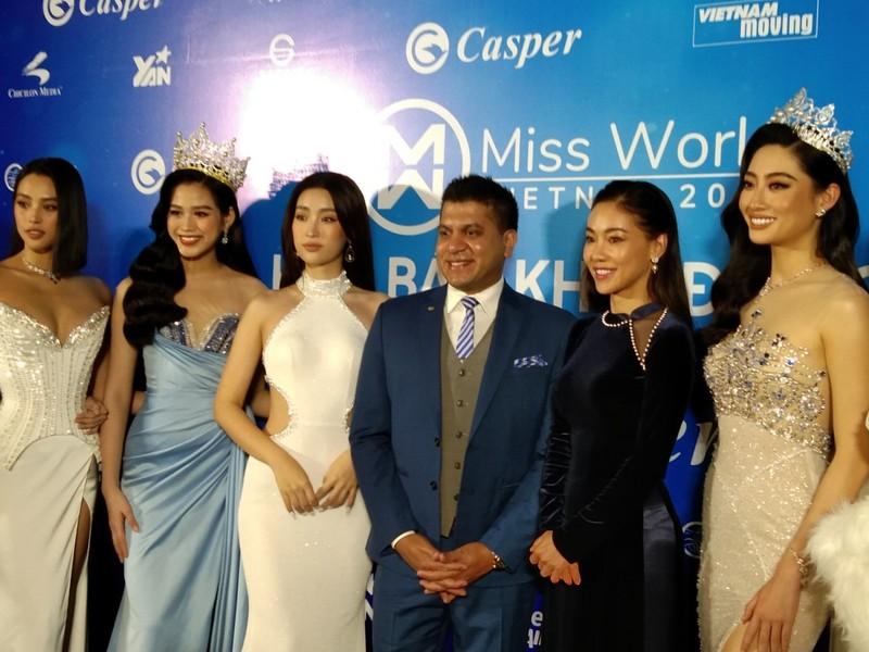 Mr Đàm lạc giữa dàn người đẹp ở Miss World Vietnam 2021 - ảnh 9