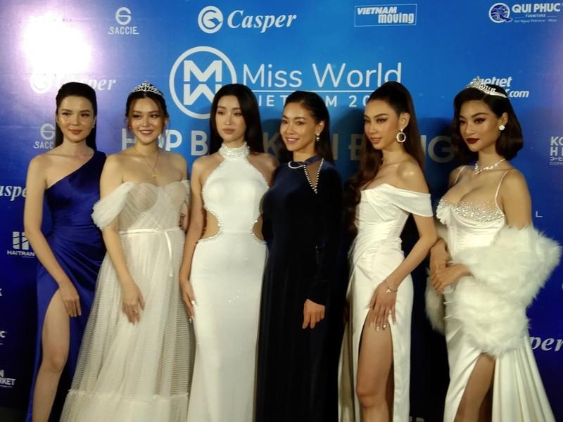 Mr Đàm lạc giữa dàn người đẹp ở Miss World Vietnam 2021 - ảnh 7