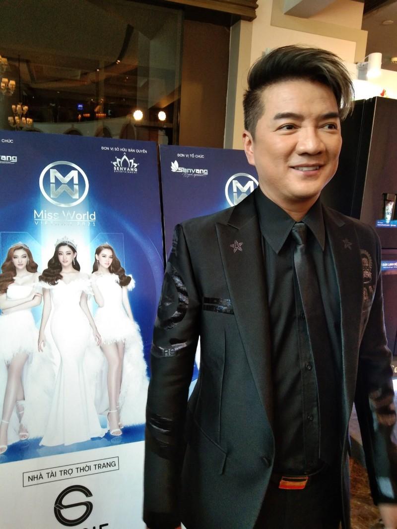 Mr Đàm lạc giữa dàn người đẹp ở Miss World Vietnam 2021 - ảnh 3