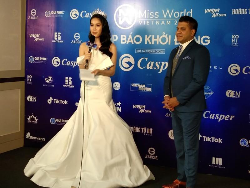 Mr Đàm lạc giữa dàn người đẹp ở Miss World Vietnam 2021 - ảnh 10
