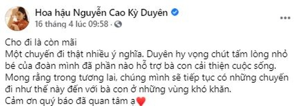 Kỳ Duyên, Minh Triệu tặng dê giống cho bà con ở Quảng Nam - ảnh 6