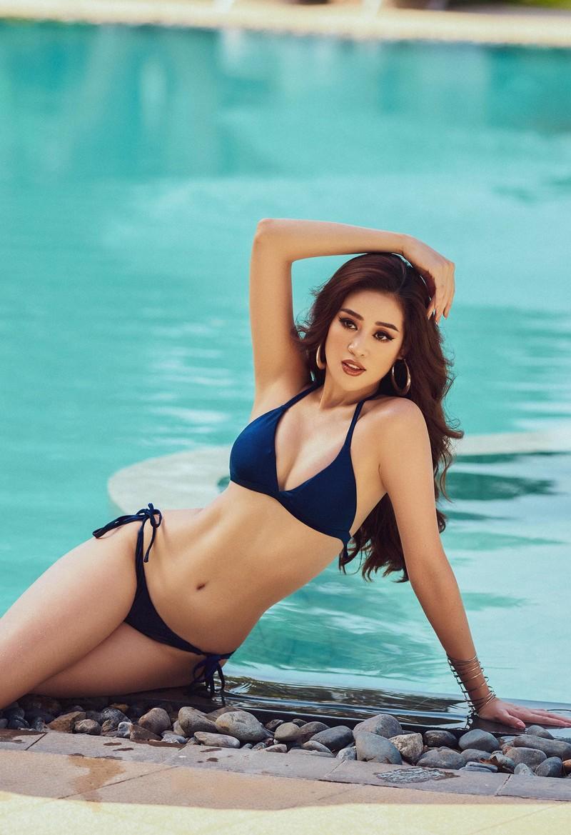 Khánh Vân tung bộ ảnh bikini gợi cảm trước thềm Miss Universe - ảnh 8
