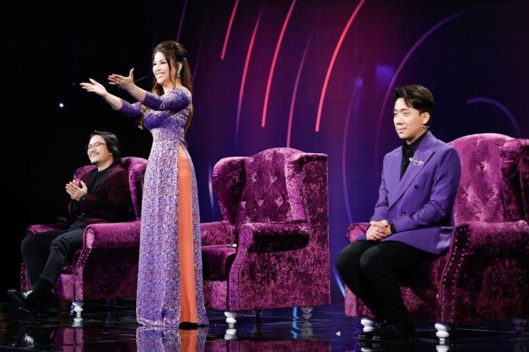 Trấn Thành giả giọng Khánh Ly hát cùng 1 thí sinh đặc biệt - ảnh 7