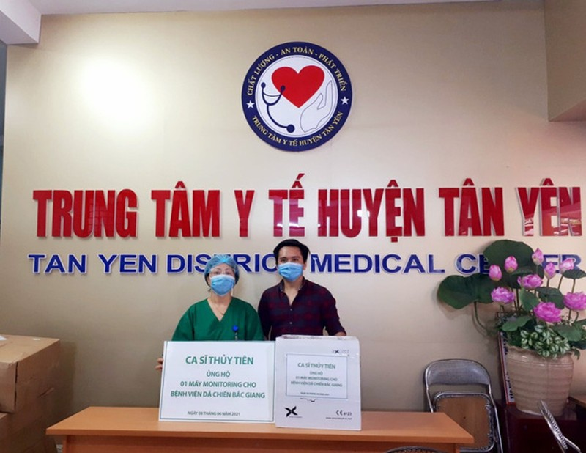 Trấn Thành, Quyền Linh, Thủy Tiên chung tay ủng hộ quỹ vaccine chống COVID-19 - ảnh 1