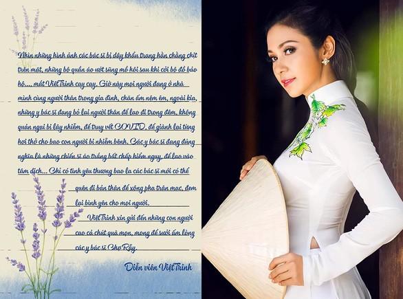 Việt Trinh ủng hộ Bệnh viện Chợ Rẫy 260 triệu phòng chống COVID-19 - ảnh 1