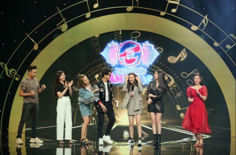 Kha Ly cùng đồng đội 'dập nát hoa hồng' đội hoa hậu Hà Thu tại Đại chiến âm nhạc - ảnh 1