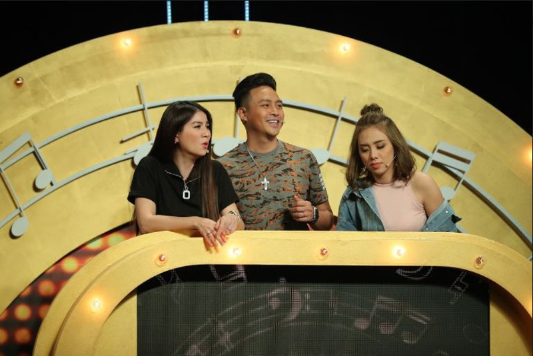 Kha Ly cùng đồng đội 'dập nát hoa hồng' đội hoa hậu Hà Thu tại Đại chiến âm nhạc - ảnh 3