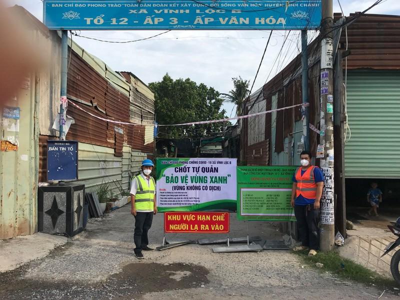 Xây dựng nhà trọ an toàn thực hiện 'vùng xanh' ở xã Vĩnh Lộc B - ảnh 8
