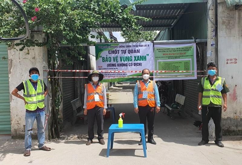 Xây dựng nhà trọ an toàn thực hiện 'vùng xanh' ở xã Vĩnh Lộc B - ảnh 9