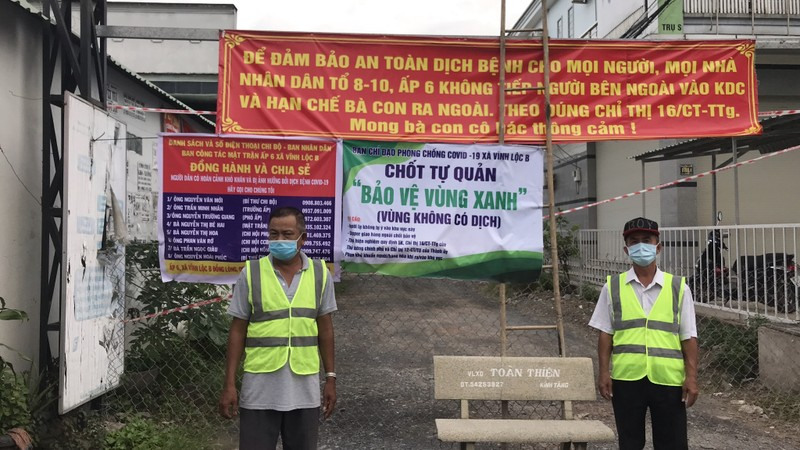 Xây dựng nhà trọ an toàn thực hiện 'vùng xanh' ở xã Vĩnh Lộc B - ảnh 1